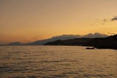 Aménage la mer en parc de nature Images libres de droits