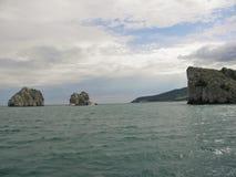 Aménage la mer en parc de nature Photographie stock libre de droits