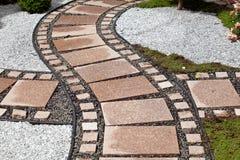 Aménagement d'éléments de conception de jardin Photos libres de droits