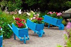 Aménagement d'éléments de conception de jardin Photo stock