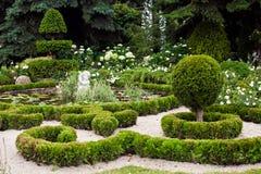 Aménagement de conception de jardin photographie stock