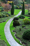 Aménagement de jardin Photographie stock libre de droits