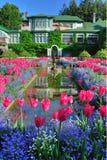 Aménagement italien de jardin Photographie stock libre de droits