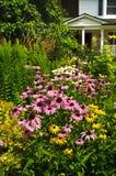 Aménagement résidentiel de jardin Photographie stock