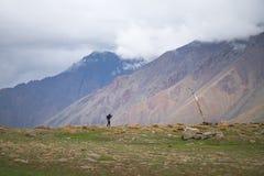 Aménagez en parc autour du secteur de Leh dans Ladakh, Inde images libres de droits