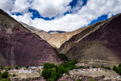 Aménagez en parc autour du secteur de Leh dans Ladakh, Inde photographie stock libre de droits