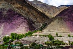 Aménagez en parc autour du secteur de Leh dans Ladakh, Inde images stock