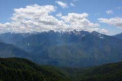Aménagez en parc dans les montagnes, parc national olympique, Washington Images libres de droits