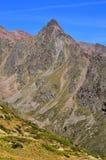 Aménagez en parc dans les senales val, Tyrol du sud Italie Image stock