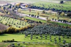 aménagez la Toscane en parc Photo stock