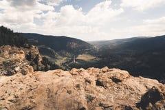 Aménagez la vue en parc d'une ville dans le Colorado pendant l'été Photo stock