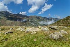Aménagez la vue en parc des montagnes de Kackar dans Rize, Turquie photographie stock