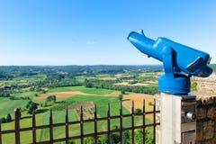 Aménagez le Dordogne en parc en français l'Aquitaine photographie stock libre de droits