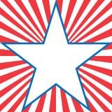 América abstrata Imagem de Stock