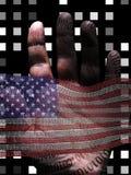 América binária Imagens de Stock Royalty Free