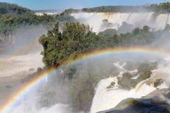 América - caídas de Iguassu Imagenes de archivo