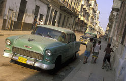 AMÉRICA CUBA LA HABANA Imagen de archivo libre de regalías