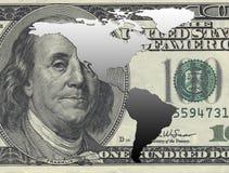 América e dólar Fotos de Stock