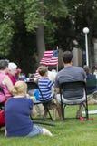 América el 4 de julio Fotografía de archivo libre de regalías