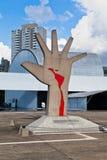 América Latin Sao Paulo memorável Brasil Foto de Stock Royalty Free