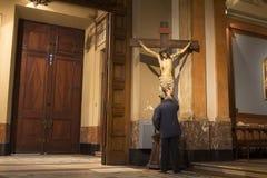 América Latina Ámérica do Sul de Buenos Aires Argentina da catedral de Jesus Christ Buenos Aires Metropolitan AGRADÁVEL fotos de stock