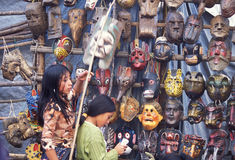 AMÉRICA LATINA GUATEMALA CHICHI imagen de archivo libre de regalías