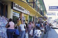AMÉRICA LATINA HONDURAS TELA Foto de archivo