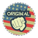 América original Imagens de Stock Royalty Free