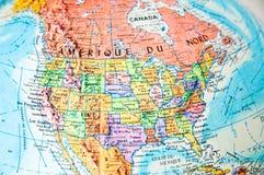 América van het noorden Stock Foto
