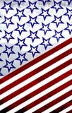 América: Vermelho, branco e azul Foto de Stock Royalty Free