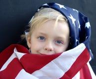 Américain Image libre de droits