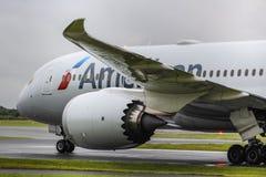 Américain 787-8 Photographie stock libre de droits