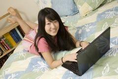 Américain asiatique images libres de droits