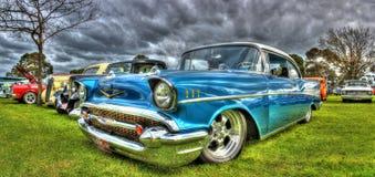 Américain classique Chevy des années 1950 Photo stock