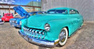 Américain classique Ford Mercury des années 1950 Images stock