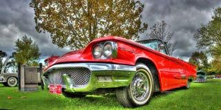 Américain classique Ford Thunderbird des années 1960 Image libre de droits