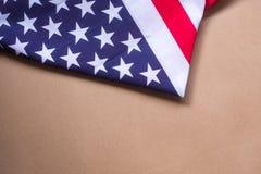 Américain 2018 de drapeau des Etats-Unis de célébration de jour national Photo libre de droits