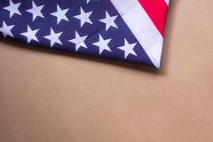 Américain 2018 de drapeau des Etats-Unis de célébration de jour national Images libres de droits