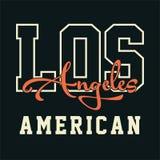 AMÉRICAIN DE LOS ANGELES Image stock