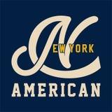 AMÉRICAIN DE NEW YORK Photos stock