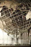 1964, Amérique, architecture, art, grand, bleu, ville, continent, couronne, destination, juste, célèbre, rinçant, avenir, globe, h Photographie stock libre de droits