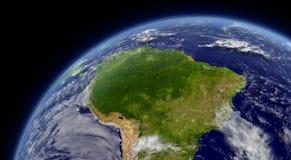 Amérique du Sud illustration stock