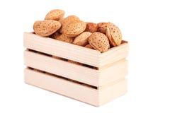 Amêndoas nuts Fotografia de Stock