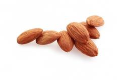 Amêndoas nuts Imagem de Stock Royalty Free