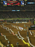 ama Atlanta Georgia supercross Obrazy Stock