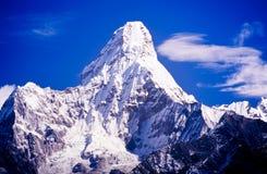 Ama Dablam,尼泊尔喜马拉雅山 免版税图库摄影