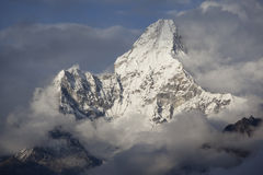 Free Ama Dablam. Royalty Free Stock Images - 21273849