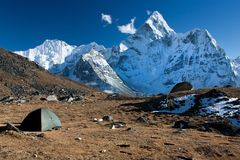 Ama Dablam Stock Photography