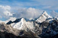 Ama Dablam-berg, Everest-gebied Royalty-vrije Stock Afbeeldingen