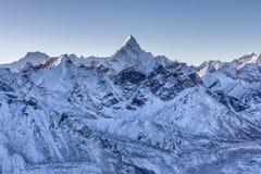 Ama Dablam-Berglandschaft Stockfoto